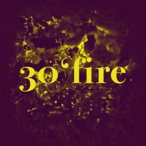 30 fire logo